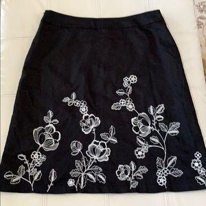 Covington Black Skirt Sz 14